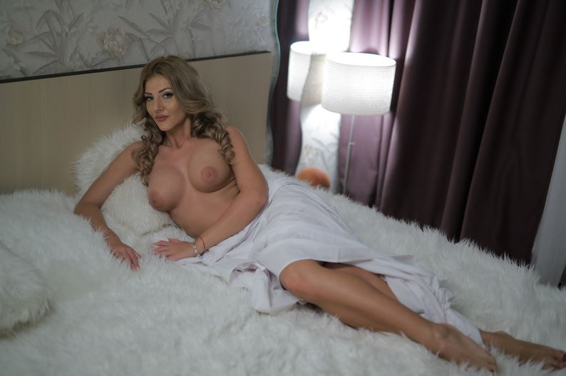 Valerie nude in bed waiting for her Step Son to join her.